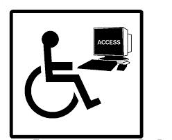 Clip Art Of Accessible Computer