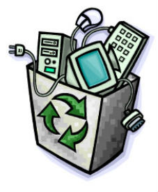 Recycled Computer Clip Art